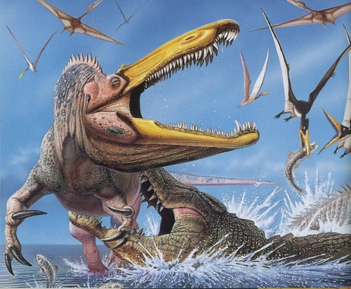 Dinosaurs wallpaper entitled Suchomimus