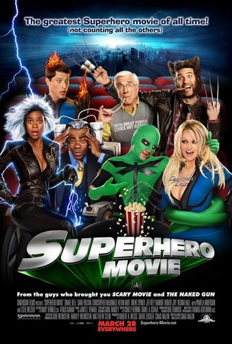 Super Hero Movies: Poster