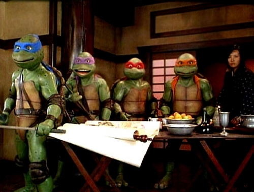 TMNT movie pictures! (non-animated)