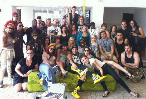 The Monster Ball Tour Dancers, Musicians and Crew