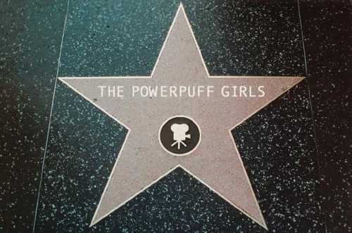 The Powerpuff Girls Hollywood Hall of Fame