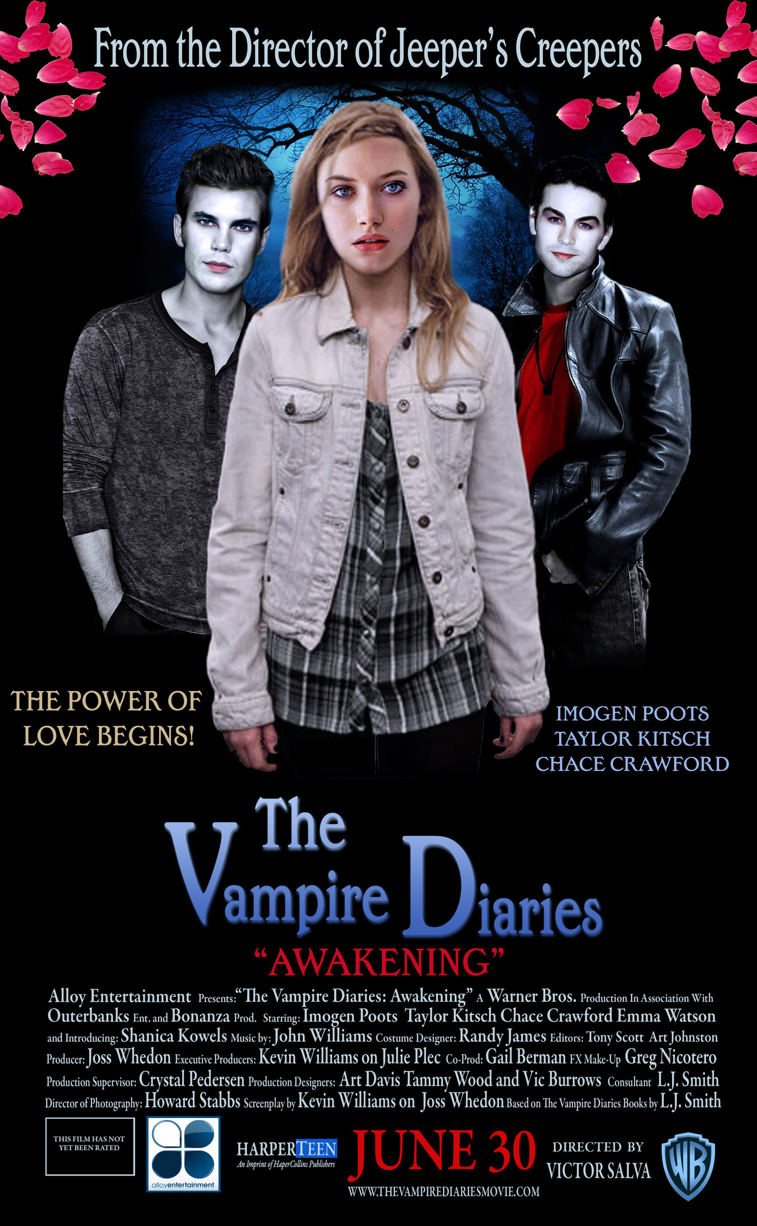 The Vampire Diaries Movie Poster
