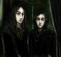 The bravest Slytherins - regulus-arcturus-black fan art