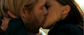 Thor and Jane Kissing