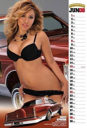 Vanessa Goodmanson Lowrider Calendar