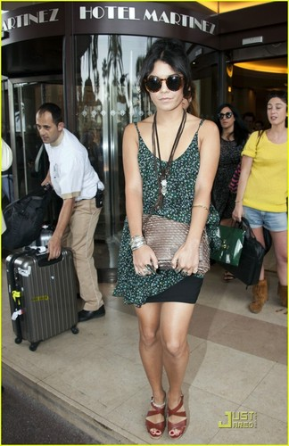 Vanessa out in Cannes