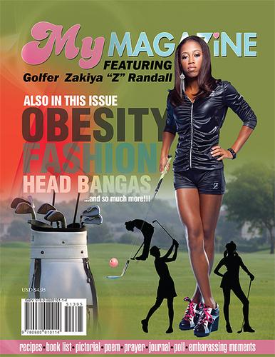 Zakiya Randall Cover Page MyMagazine4Girls