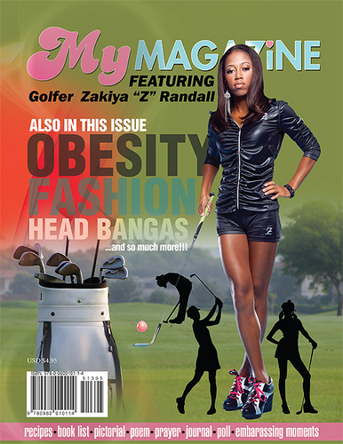 Zakiya Randall Front Cover MyMagazine4Girls