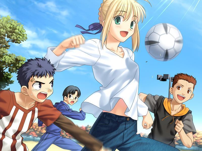 fußball anime