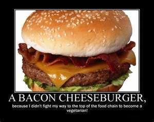 spek cheese burger