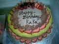 birthday cake of kaka