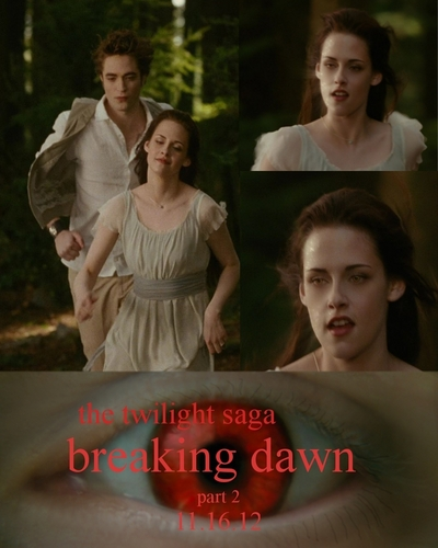 breaking dawn poster fanmade