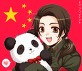 "china and ""panda!"" - hetalia-china photo"