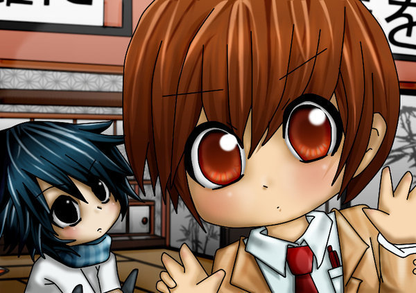 death note chibi light - photo #18
