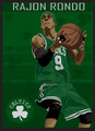 done by Jayz26 (look on deviantart.com) - rajon-rondo fan art