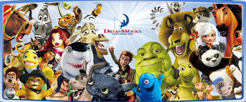 dreamworks characters