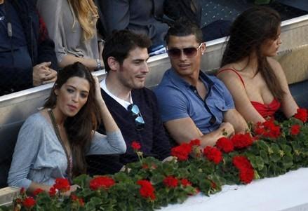 iker casillas on Nadal match