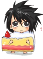 l death note chibi