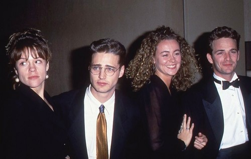 luke perry and jason priestley