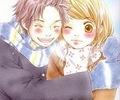 natsu hugging lucy