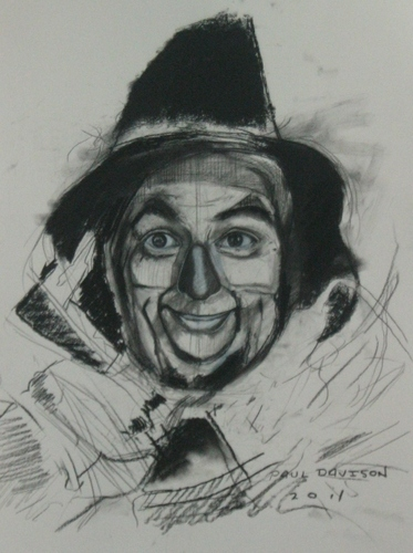 scarecrow drawn par Paul Davison