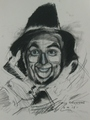 scarecrow drawn by Paul Davison - the-wizard-of-oz fan art