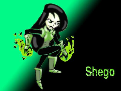 shego costume - kim-possible Wallpaper