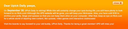 upick daily