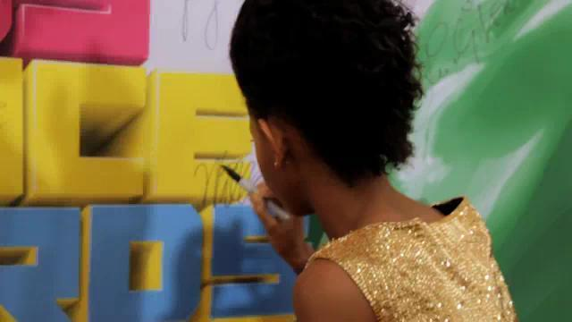 willow signs kids choice awards poster