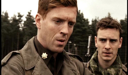 Michael Fassbender wallpaper containing a green beret, fatigues, and battle dress entitled  BAND OF BROTHERS