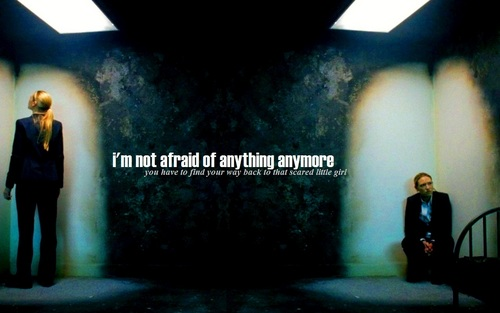 Fringe wallpaper titled 'I'm Not Afraid Of Anything Anymore'