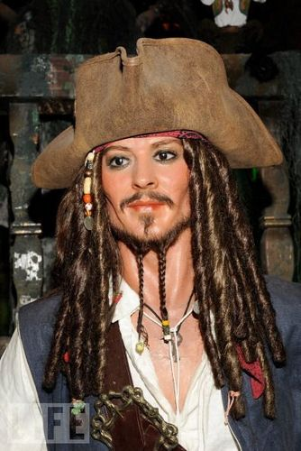 'Pirates Of The Caribbean: On Stranger Tides' Wax Figures Unveiled