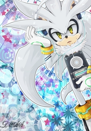 Silver the Hedgehog 바탕화면 possibly containing 아니메 entitled .:Silver:.