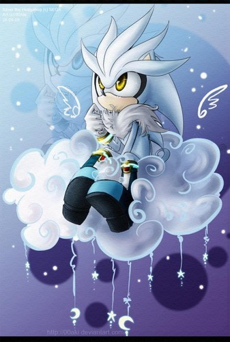 Silver the Hedgehog wallpaper titled .:Silver:.