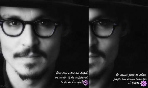 Johnny Depp wallpaper probably with a fedora called ♡ an Angel on Earth♡