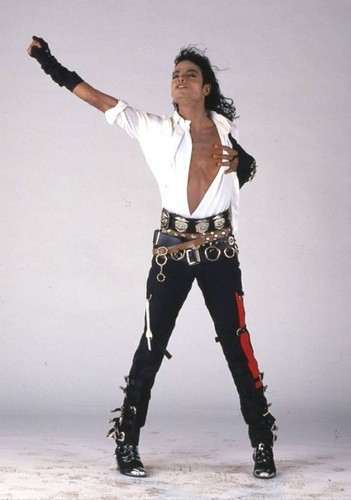 1988year. Photoshoot for the Dirty Diana single.