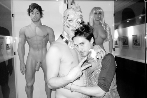 Jared Leto hình nền probably containing skin titled 30 giây to Mars Pics bởi Terry Richardson