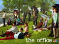 the-office - A Sunday Afternoon on the Island of La Grande Jatte: Office Style wallpaper
