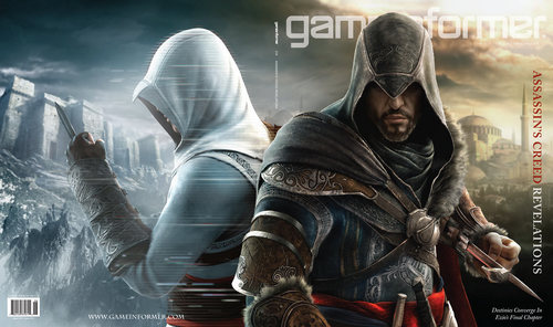 Assassin's Creed wallpaper with a fountain called AC Revelations Altair & Ezio