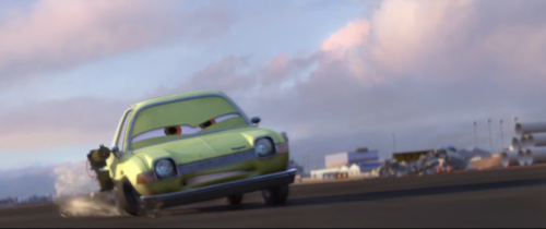 Disney Pixar Cars 2 wallpaper probably containing a carriageway called Acer's rage