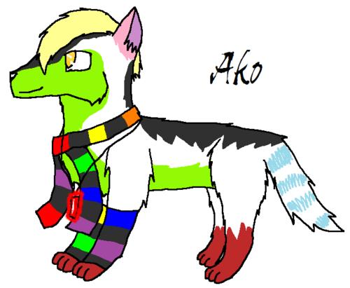 Ako the волк
