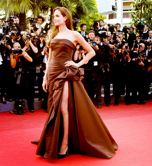 Angelina at Cannes