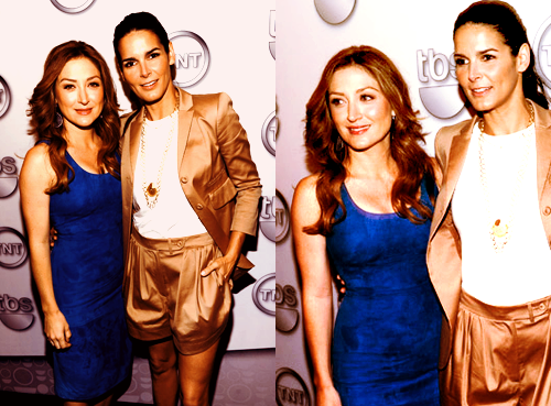 Angie & Sasha at Upfronts