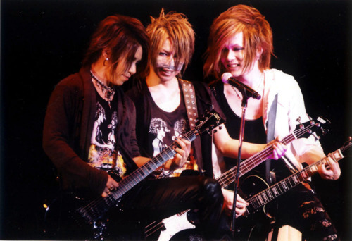 Aoi, Reita and Uruha