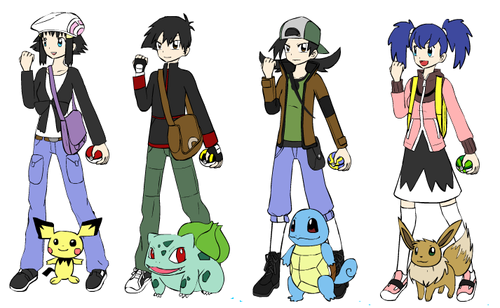 Ash and Dawn's kids