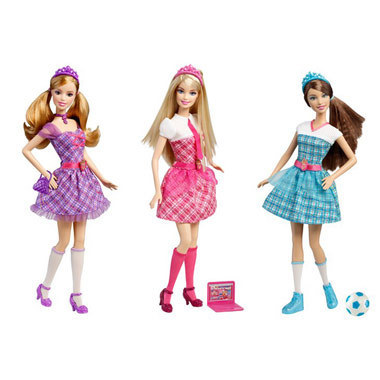 búp bê barbie Charm School búp bê Assorted