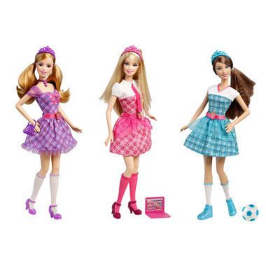 Barbie Charm School mga manika Assorted