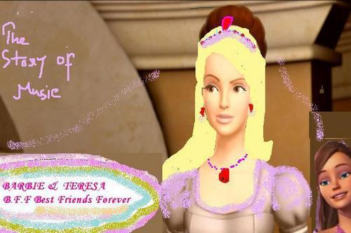 Барби and Барби and Teresa as the (Best Друзья Forever) - Aleciea ( Барби )