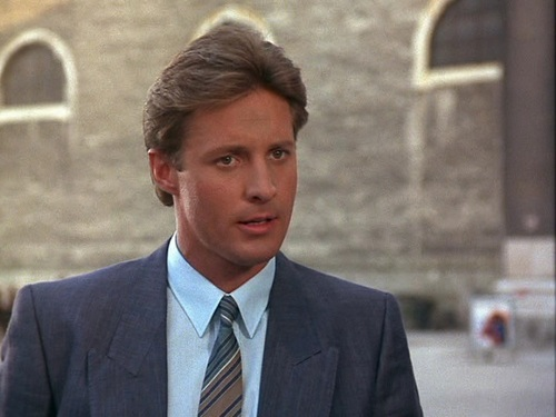 Scarecrow and Mrs. King achtergrond with a business suit, a suit, and a double breasted suit called Bruce Boxleitner as Lee Stetson