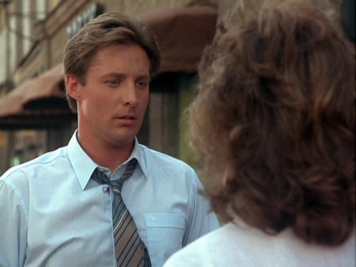 Scarecrow and Mrs. King wolpeyper containing a business suit titled Bruce Boxleitner as Lee Stetson